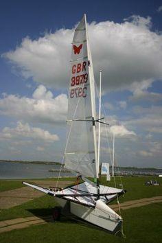 Hydrofoil International Moth Build | boardRepair.co.uk
