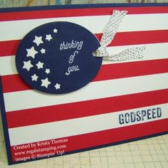 That's the Tag, Patriotic Card Mom Cards, Thank You Cards, Men's Cards, Military Cards, Patriotic Crafts, Scrapbook Cards, Fourth Of July, Holiday Cards, Stampin Up