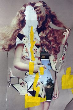 New obsession, Vanessa Lamounier de Assis. Vanessa Lamounier was born in Belo Horizonte, Brazil in She studied Architecture at the TU Delft, in The Art Du Collage, Love Collage, Collage Artists, Mixed Media Collage, Digital Collage, Photography Illustration, Art Photography, Illustration Art, Collages
