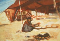 Hussain Alheidary - in de woestijn 2