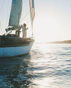 sailboat wedding = awesome!