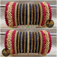 No comment for detail DM or WhatsApp Only -> . Avilabile Chooda Kalire and Jewellery . Silk Thread Bangles Design, Silk Bangles, Bridal Bangles, Bridal Jewelry, Indian Bangles, Indian Jewelry Sets, Indian Wedding Jewelry, Fancy Jewellery, Saree Jewellery