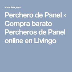 Perchero de Panel » Compra barato Percheros de Panel online en Livingo Panel, Shopping, Wall Decals, Coat Stands