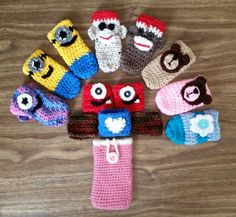 Crochet Freezie Holders