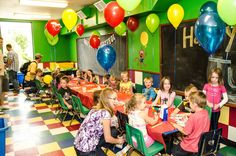 Party room time - always a private experience for you and your guests in the party room.  coloradosprings.monkeybizness.com
