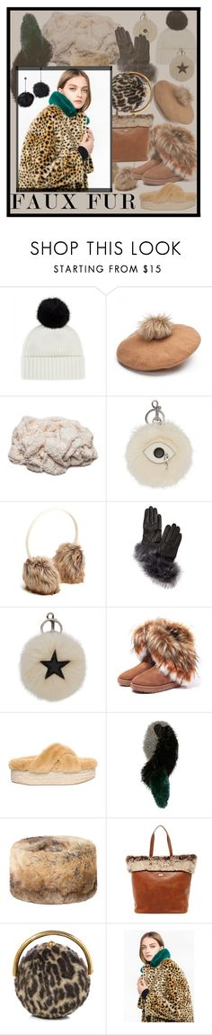 """""""Faux Fur"""" by alrdesign ❤ liked on Polyvore featuring Jaeger, STELLA McCARTNEY, Old Navy, Kate Spade, Jeffrey Campbell, Charlotte Simone, DUBARRY, Australia Luxe Collective and Betsey Johnson"""