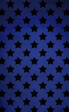 estrelas pretas e fundo azul escuro