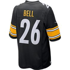 Pittsburgh Steelers Nike Le Veon Bell Replica Home Jersey - Official Online  Store c8cae4daf4a10