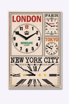 Newgate World Traveller Clock