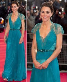 Kate vestido azul turquesa