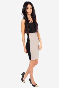 62db43beba Leaves to Fit Skirt $32 at www.tobi.com Fitted Skirt, Summer Wardrobe