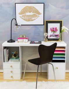 trendy office decor pinterest gold lips canvas art modern vintage decoroffice 157 best office decor images on pinterest in 2018 hobby lobby