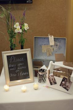 guest book table  //  cassie's camera