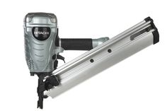 Hitachi NR90AD(S) 2-Inch to 3-1/2-Inch Clipped Head Paper Collated Framing Strip Nailer >>> You can get additional details at the image link.