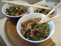Dan dan noodles with pork by Boštjan Cigan, via Flickr