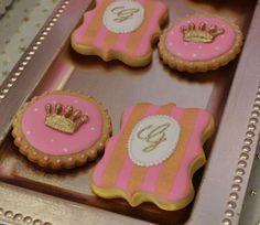 Violeta Glace 's Birthday / Princess - Photo Gallery at Catch My Party Princess Theme, Princess Birthday, Royal Princess, 1st Birthday Parties, Girl Birthday, Birthday Ideas, Princess Cookies, Balloon Cake, Cakes And More