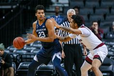 BYU Basketball dominates at the foul line in 75-66 road win at Utah State
