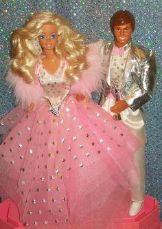 1988 Superstar Barbie & Ken