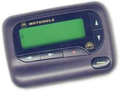 Pagers/Beepers:  I had one of these....which I purchased for personal use...WHY??? Guess I wasn't too thrilled with it ---- left it in the glovebox of my car...in the summer...and it was toast!