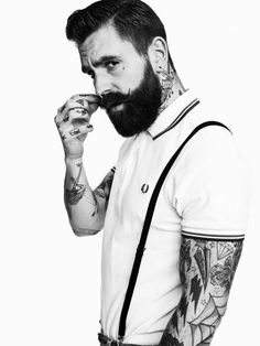 Beards, brawn and body art - Features - Fashion - The Independent