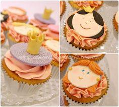 Princess Barbie Cupcake Toppers
