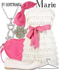 DisneyBound. This dress is adorable!! I love pink and bows and the accessories are fantastic.