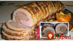 Neprekonateľná bravčová roláda s mletým mäsom podľa mojej mamy – rýchla, jednoduchá: Netreba k nej ani prílohu!
