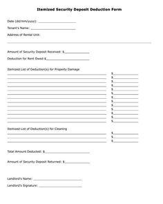 Free printable demand for return of security deposit letter pdf itemized security deposit deduction form altavistaventures Images