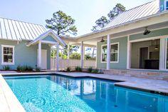 u shaped house plans with pool