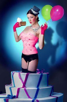 Stripterka! V torte!