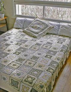 Crochet Bed Spread 2011 - diamondinapril - Picasa-Webalben