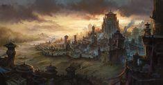environment concept art landscape fantasy - Google Search