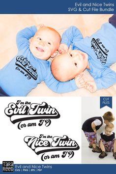 Twins Triplets Svgs Cut Files