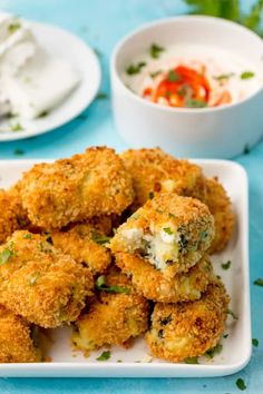 Baked Spinach and Goats Cheese Croquettes
