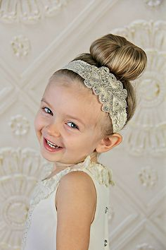 Lace and Rhinestone Headband Bling Headband by Pizzazzies on Etsy Crystal Headband, Rhinestone Headband, Flower Girl Headbands, Flower Girls, Rustic Wedding Jewelry, Getting Married, Hair Accessories, Bling, Fancy