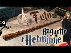 Tuto DIY - La Baguette d'Hermione Granger - How to make Hermione Grangers' Wand - YouTube