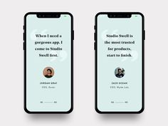 Testimonials are one of the most important factors for users when deciding on if they want to use your product or service. So if looking for a cool way to add them to your site, then here are 40 Impressive Testimonial UI Design Examples for inspiration. Daily Ui, Ui Design Inspiration, Web Design, Branding, App, Yearbook Ideas, Layouts, Minimal, Profile