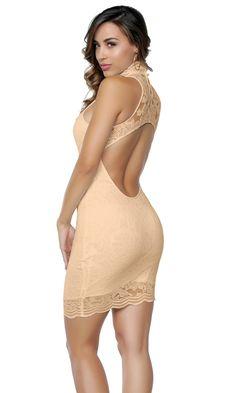 Lauren Lace Mini Dress