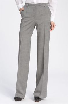 Hugo Boss Trousers.  These have always been totally been my style except they don't make them for hipp-y women with really long legs.