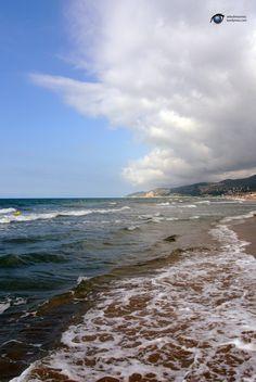 Castelldefels Beach near Barcelona - Catalonia.