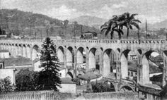 Única linha urbana remanescente de bondes do Brasil. A Cia Ferro Carril Carioca introduziu o bonde em 1870 e eletrificou em 1896 feito notável o aproveitamento do antigo aqueoduto colonial como via de acesso ao bairro.