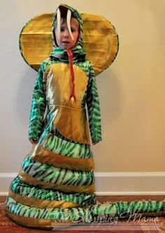 Coolest Halloween costume ever: King Cobra! My son's only complaint? Too many people took his picture. Family Halloween Costumes, Boy Costumes, Halloween Season, Baby Halloween, Costume Ideas, Snake Costume, Snake Party, Halloween Queen, Homemade Halloween