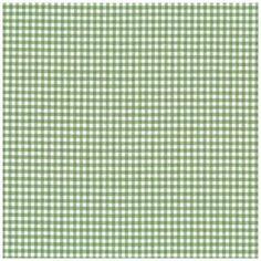 Tissu patchwork STOF country petits carreaux blanc et vert