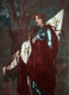 Wolfram Onslow Ford, Joan of Arc http://40.media.tumblr.com/96a14aacce74331d386a0d5c87b5a669/tumblr_nqerhirbV71uykby4o1_1280.jpg