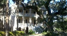 The Castle, built by Dr. Joseph Johnson in the in an Italian Renaissance style, sits proudly at 411 Craven Places In Usa, Ghost House, Jewel Of The Seas, Live Oak Trees, True Homes, Port Royal, Haunted History, Plantation Homes, Low Country