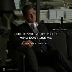 Smile in front of your haters it kills them. . . . #extremequotes #harveyspecter #gabrielmacht #suits #suitsusa #classy #life #gentlemen #winning #photooftheday #motivationalquotes #follow #entreprenurquotes #hustle #instagood #quotestoliveby #motivation #inspiration #ceo #guts #success #winners #tomford #quoteoftheday #wealth #goals #value #smile #whodontlikeme
