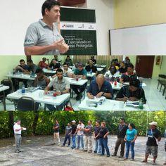 Y arrancamos. 1er curso de guias para areas protegidas de ECOTUR AP MIAMBIENTEATP!