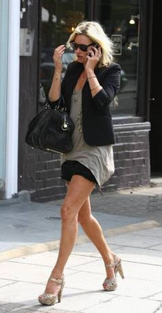 Style icon: Kate moss...