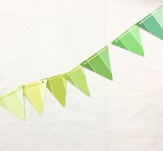 Make a Color Matched Party Bunting with the Nix Pro Color Sensor! This blog is a color palette tutorial + craft tutorial too! From Pop Shop America DIY Blog.