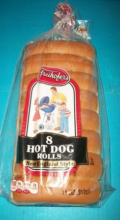 2 Pkgs Freihofer Or Country Kitchen New England Style Hot Dog Rolls 8 Ct